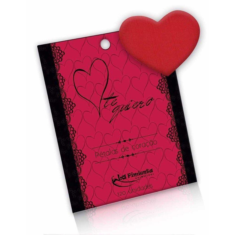 Pétalas de Coração Perfumadas 120 unidades - La Pimienta