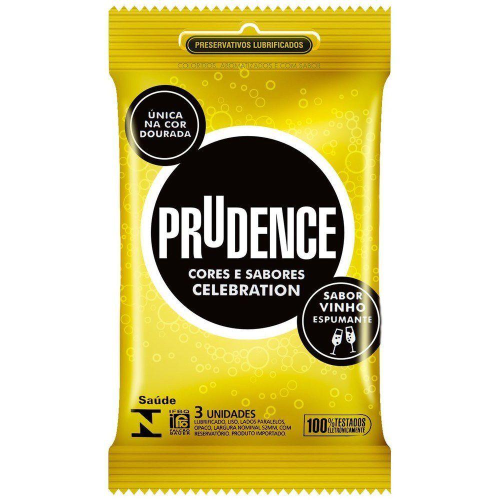 Preservativo Sabor Vinho Com Espumante - Prudence