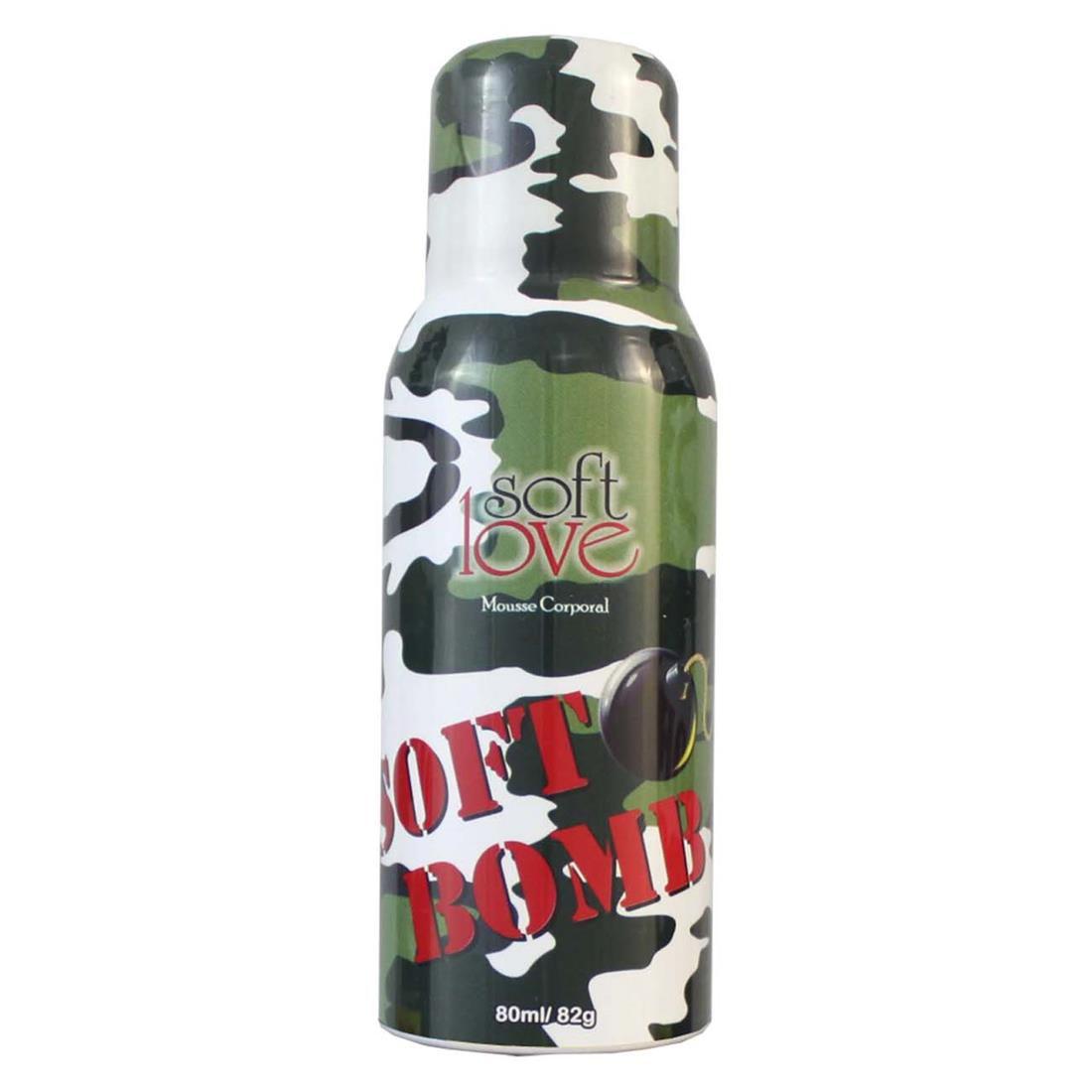 soft Bomb Mousse Efervescente Comestível 80ml - Soft Love