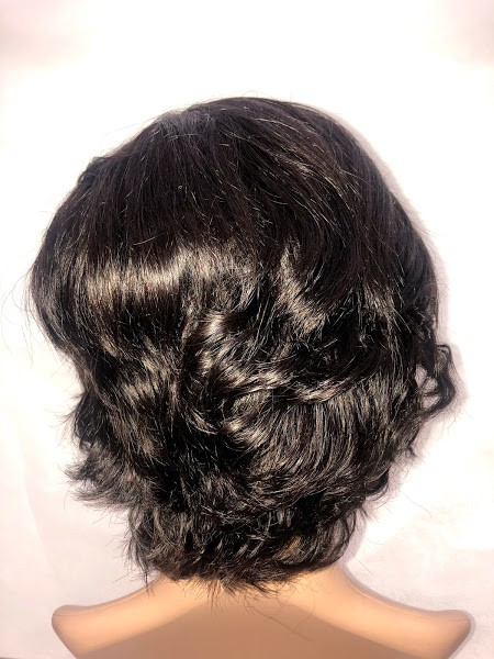 Front Lace Curta