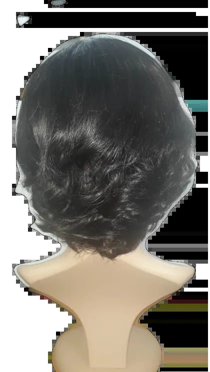 Peruca Cabelo Natural Front Lace.