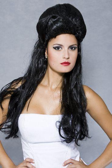 Peruca Sintética Amy Winehouse Fio Nacional.