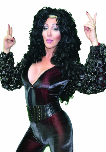 Peruca Sintética Drag Cher Fio Importado.