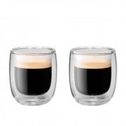 Jogo de 2 copos de parede dupla para café 80 ml - Zwilling