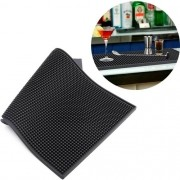 Tapete Silicone bar mat escorredor copos louças barman 30x45