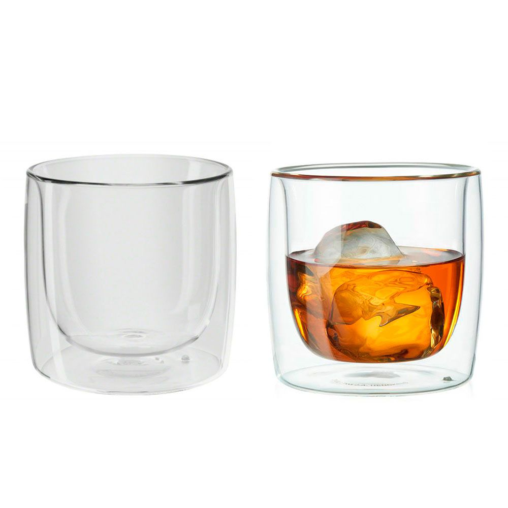 4 Copos parede dupla Whisky 266ml - Zwilling