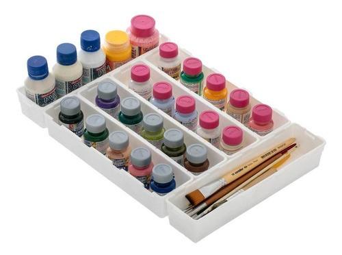 5 módulos organizadores com encaixe para gavetas talheres maquiagem