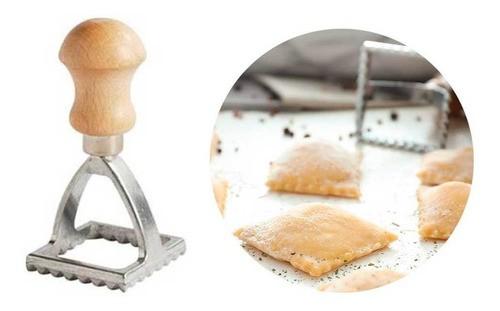 Cortador e modelador pequeno de Ravioli, massas, pastel quadrado 3,5cm