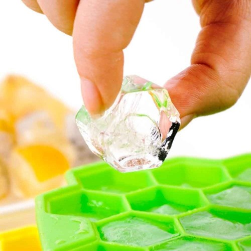 Forma de Silicone Colmeia para Gelo Chocolate Bombom Sabonete Frutas