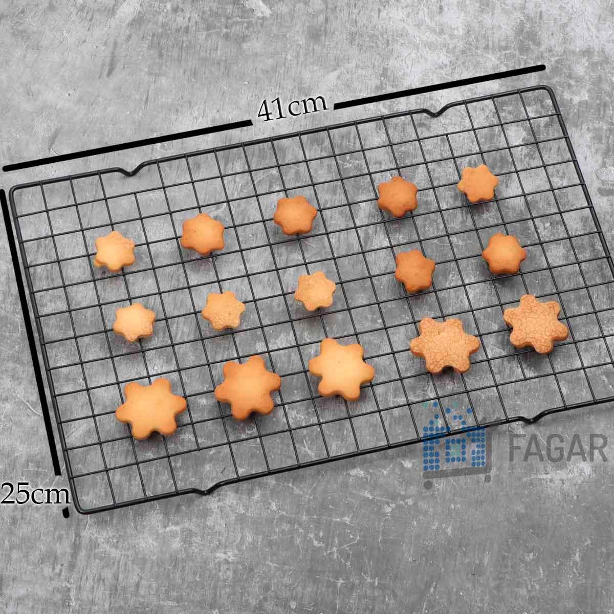 Grade antiaderente para resfriamento de bolos, doces, biscoitos, cupcakes e salgados