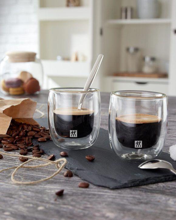 Jogo de 4 copos de parede dupla para Cappuccino 200ml - Zwilling