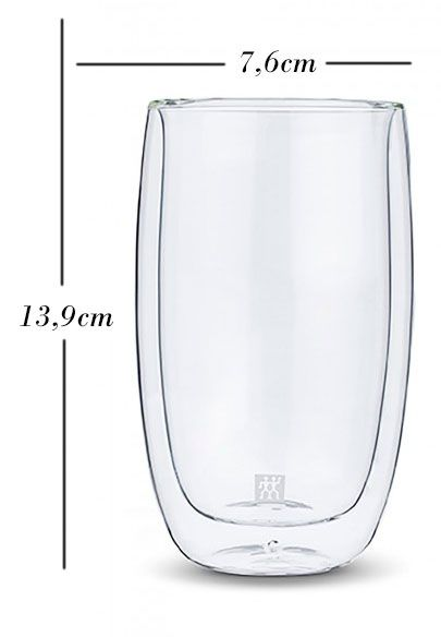 Kit com 2 copos 80 ml + 2 240ml + 2 350ml - Zwilling