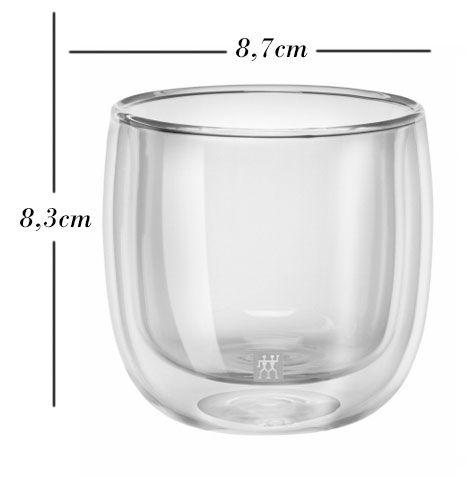 Kit com 2 copos 80 ml + 2 240ml - Zwilling