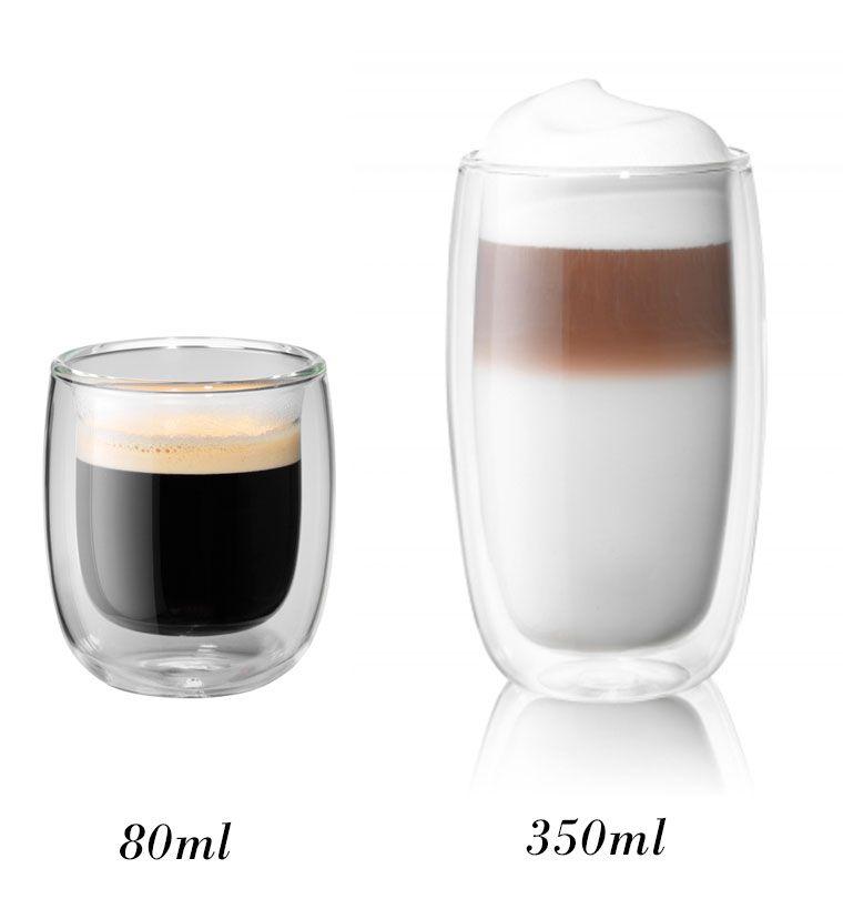 Kit com  2 copos 80 ml + 2 350ml - Zwilling
