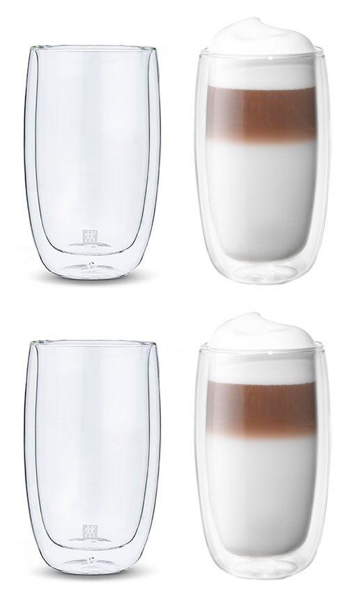 Kit de 4 copos Long Drink de parede dupla 350 ml -  ZWILLING