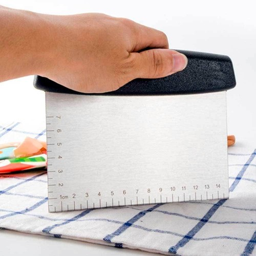 Rolo ajustável para massas e Raspador Retangular