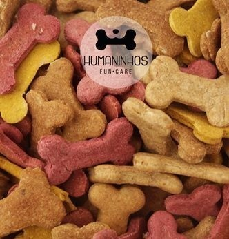 Biscoitinho Gourmet sabor Abóbora 100% Natural - Humaninhos Fun-Care