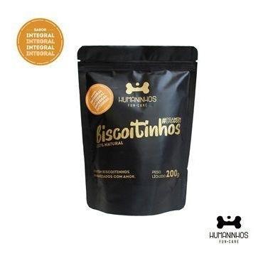 Biscoitinho Gourmet sabor Integral 100% Natural - Humaninhos Fun-Care