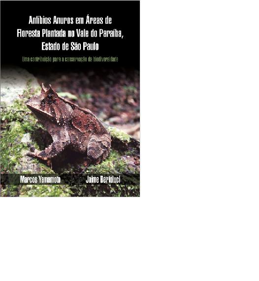 Anfíbios Anuros em Áreas de Floresta Plantada no Vale do Paraíba, estado de São Paulo