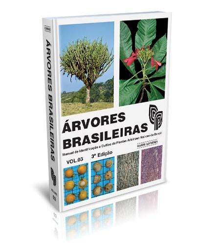 Árvores Brasileiras V-3 - 3ª Edição