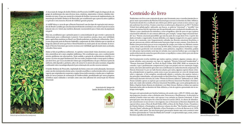 Guia das Plantas da Mata Atlântica- Floresta Estacional  ( autografado pelo autor Vinicius Castro Souza )