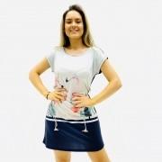 CAMISOLA  RECCO BÁSICA  MALHA TOUCH VISCOSE COLORS FEMININA