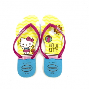 CHINELO HAVAIANAS HELLO KITTY SLIM FEMININO