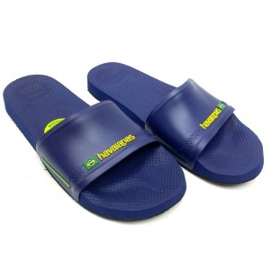CHINELO HAVAIANAS  SLIDE BRASIL  EXTRA COMFORT COLORS MASCULINO