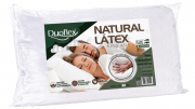 TRAVESSEIRO DUOFLEX  NATURAL LATEX  50 X90 LN1000 KING ALTURA 16 BRANCO UNISSEX