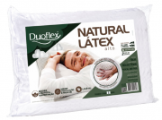 TRAVESSEIRO DUOFLEX  NATURAL LATEX ALTURA 16 CM LN1100 BRANCO UNISSEX