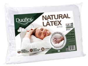 TRAVESSEIRO DUOFLEX  NATURAL LATEX ALTURA 16 CM LN1100 BRANCO UNISSEX