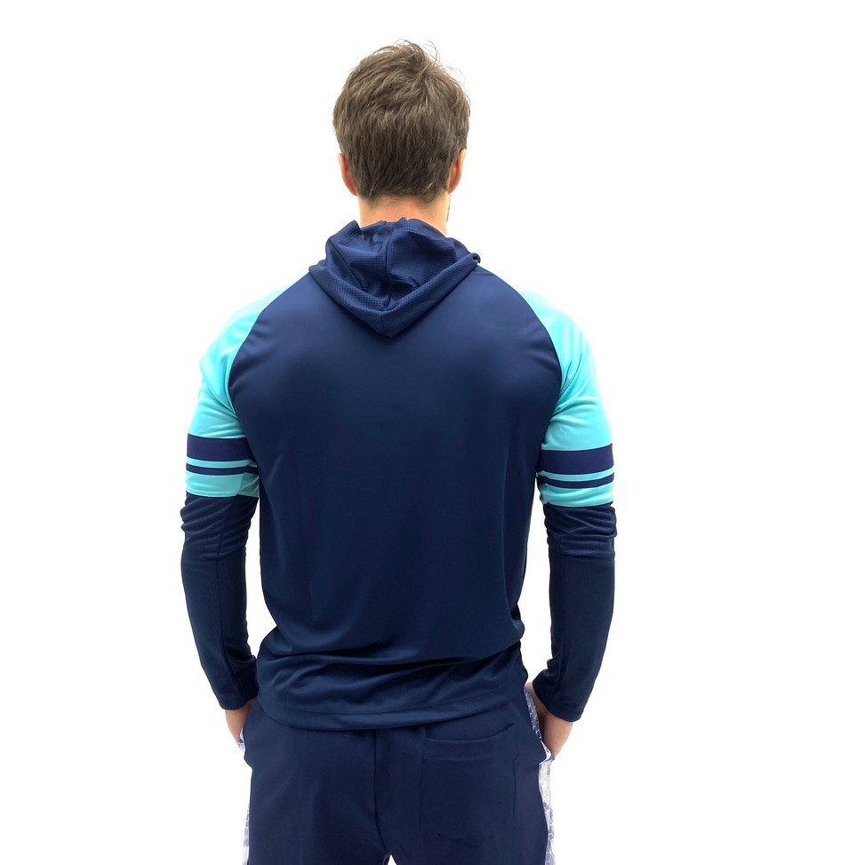 BLUSA NINETY EIGHT DRY FIT CAPUZ COLORS MASCULINO