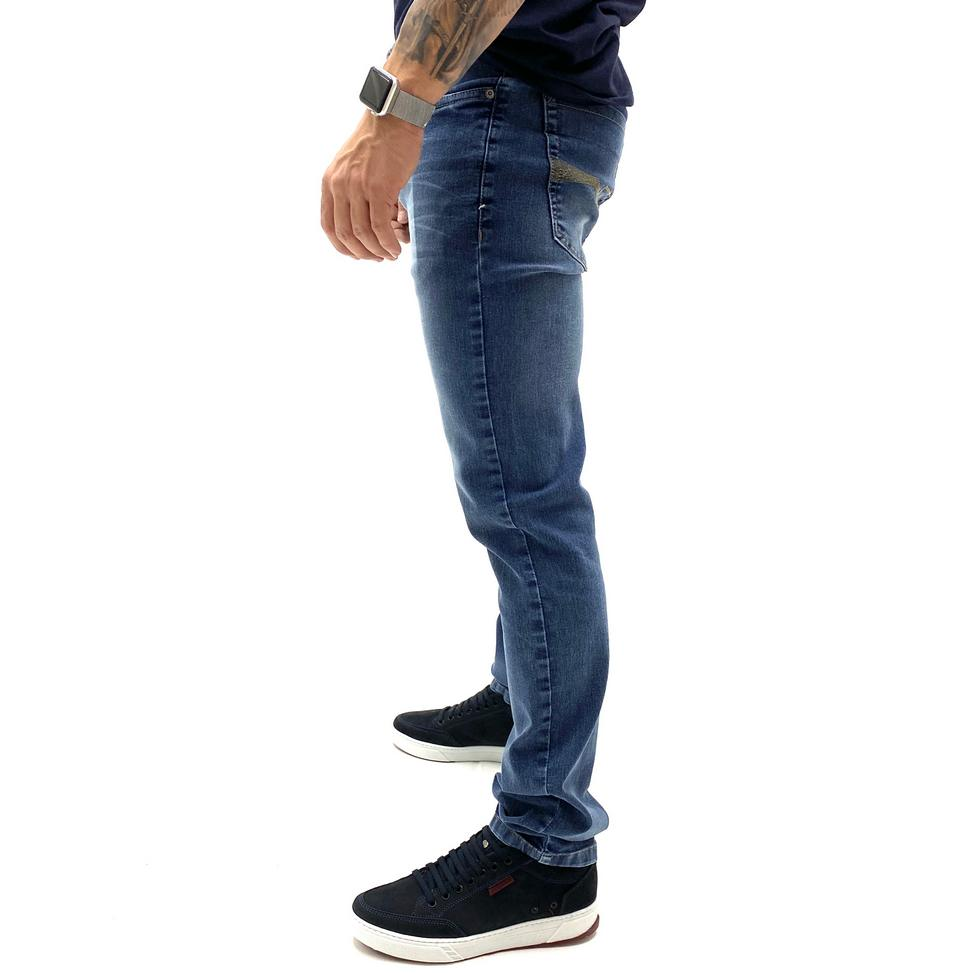 CALCA JEANS SKINNY YOUNG STYLE  MASCULINA