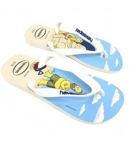 CHINELO HAVAIANAS THE SIMPSONS COLORS UNISSEX