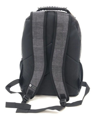 MOCHILA MANAGER II HANG LOOSE  ENJOY PRETO GRAFITE MASCULINO