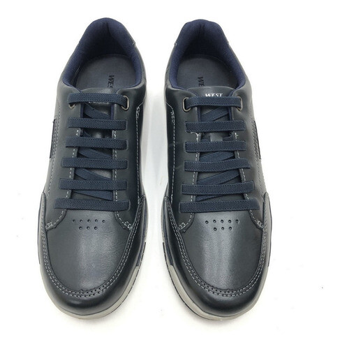 SAPATÊNIS WEST COAST COURO WORKER BRAND COLORS MASCULINO