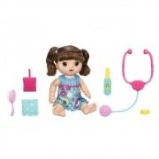 Boneca Baby Alive Bebê Doces Lágrimas Morena - Hasbro