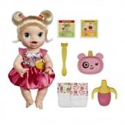 Boneca Baby Alive Hora de Comer Loira - Hasbro