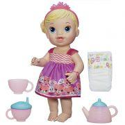 Boneca Baby Alive Hora do Chá Loira  - Hasbro