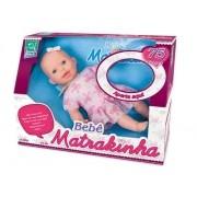 Boneca Bebê Matrakinha Fala 75 Frases  - Super Toys