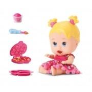 Boneca Little Dolls come come - Diver Toys