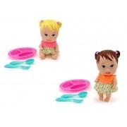 Boneca Little Dolls Papinha - Diver Toys