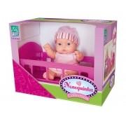 Boneca Nenequinha Collection Bercinho - Super Toys