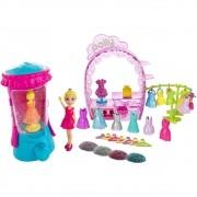 Boneca Polly Pocket Estúdio do Glitter - Mattel