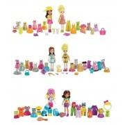 Boneca Polly Pocket - Férias Tropicais/ Festa Brilhante - Mattel