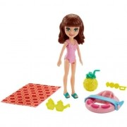 Boneca Polly Pocket Lila Parque Aquático - Mattel