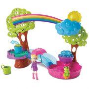 Boneca Polly Pocket Playset Diversão na Chuva - Mattel
