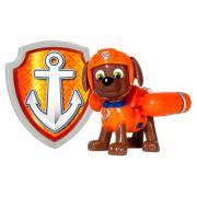 Boneco com Distintivo Patrulha Canina Zuma - Sunny