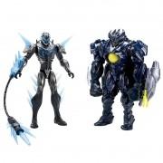 Boneco Max Steel Batalha Max vs Makino - Mattel