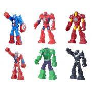 Boneco Playskool Heroes Marvel Super Hero Adventures Mega Armadura - Hasbro